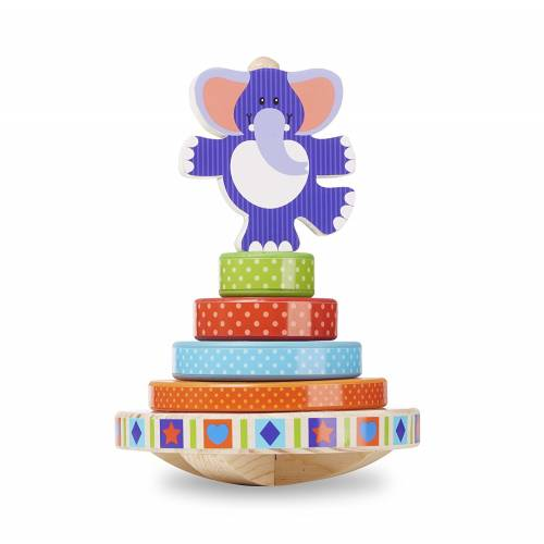 Melissa & Doug First Play Rocking Stacker
