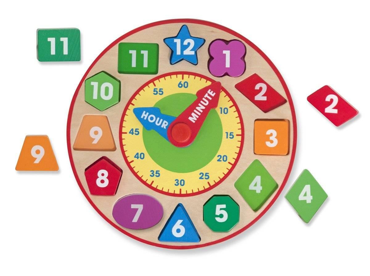 Melissa & Doug Shape Sorting Clock   Toys n Tuck