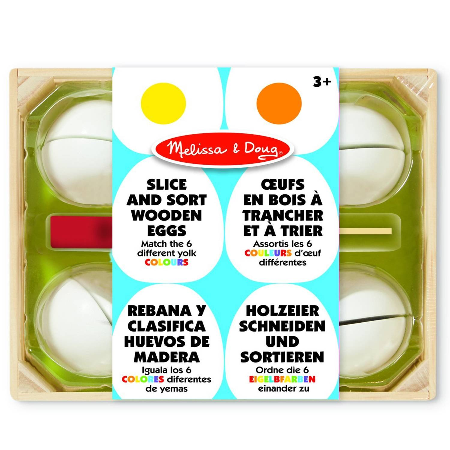 Awesome Melissa Doug Slice And Sort Wooden Eggs Download Free Architecture Designs Lectubocepmadebymaigaardcom