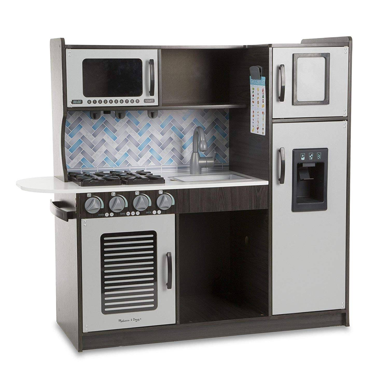Melissa Amp Doug Wooden Chef S Pretend Play Toy Kitchen