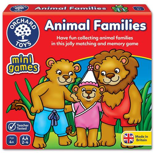 Orchard Mini Game Animal Families