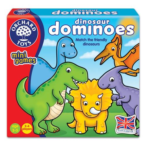 Orchard Mini Game Dinosaur Dominoes