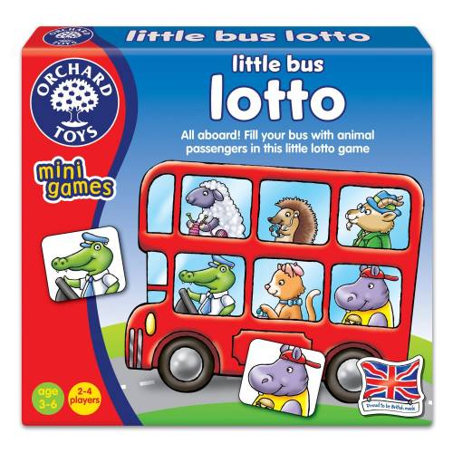 Orchard Mini Game Little Bus Lotto
