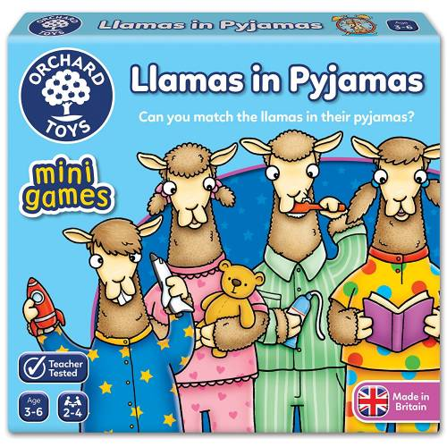 Orchard Mini Game Llamas in Pyjamas