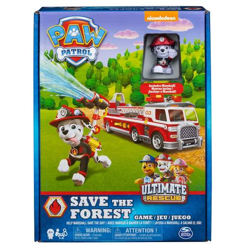 Paw Patrol Save the Forest Game
