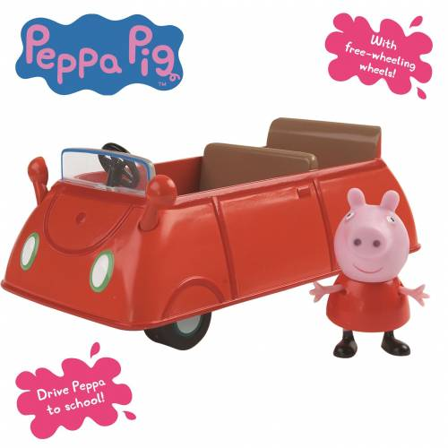 Peppa Pig Family Car