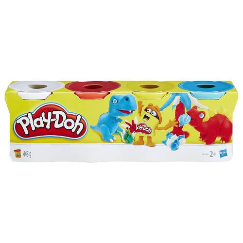 Play-Doh 4 Tub Pack B6508