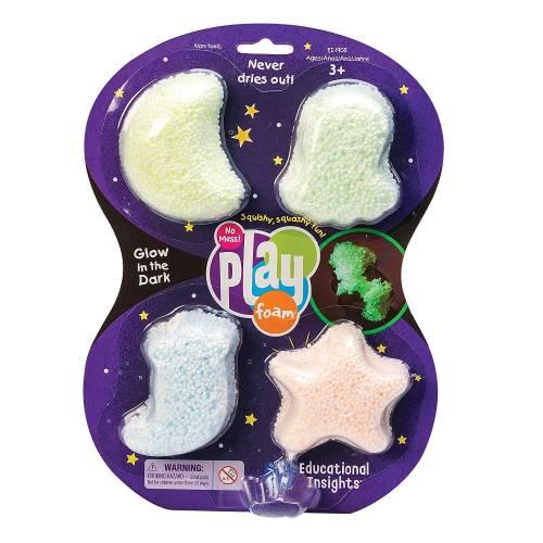 Playfoam Glow in the Dark 4 Pack