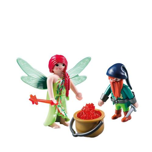 Playmobil 6842 Elf And Dwarf