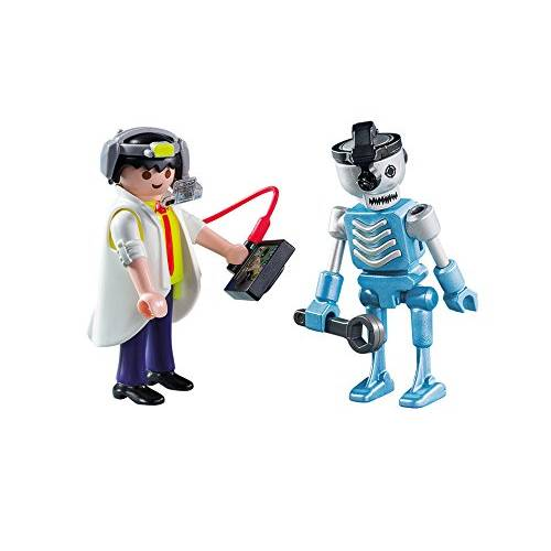 Playmobil 6844 Scientist With Robot