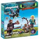 Playmobil 70040 Dragons Hiccup and Astrid with Baby Dragon