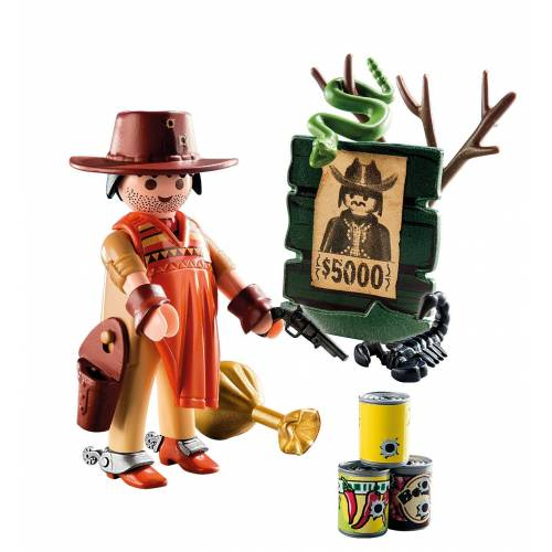 Playmobil 9083 Cowboy with Wanted Poster