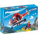 Playmobil 9127 Action Mountain Rescue Helicopter