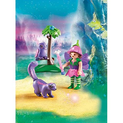 Playmobil 9140 Fairies Girl with Animal Friends