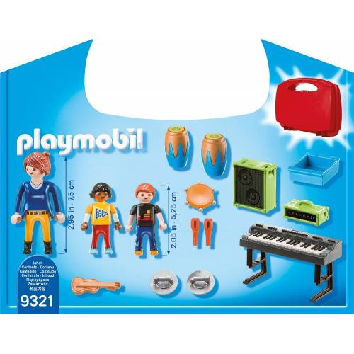 Playmobil 9321 City Life Music Class Carry Case