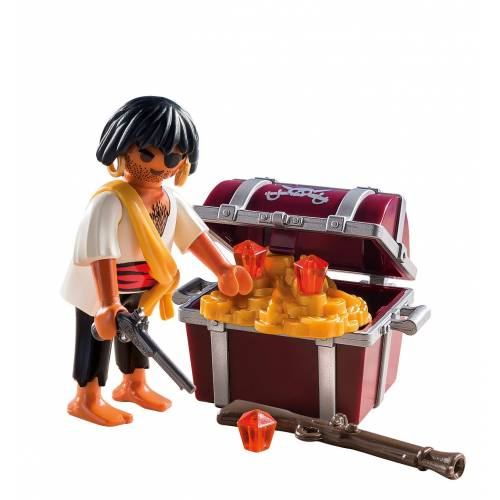 Playmobil 9358 Pirate with Treasure Chest
