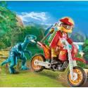 Playmobil 9431 Motorbike with Raptor