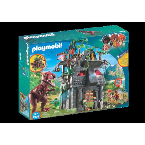Playmobil The Explorers 9429 Hidden Temple with T-Rex
