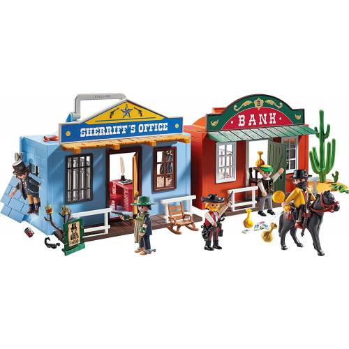 Playmobil Western 70012 Take Along Western City