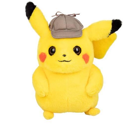 Pokemon 8 Inch Plush - Detective Pikachu