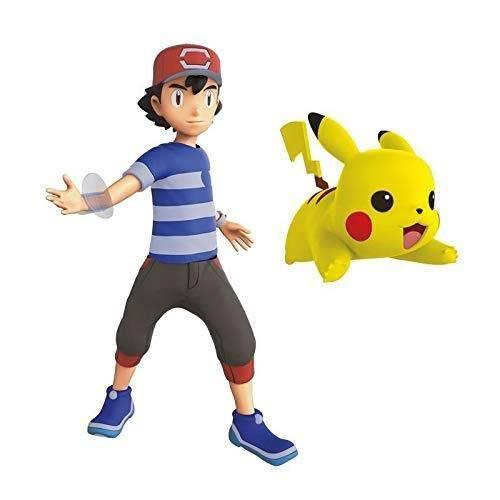 Pokemon Battle Feature Figure - Ash & Pikachu