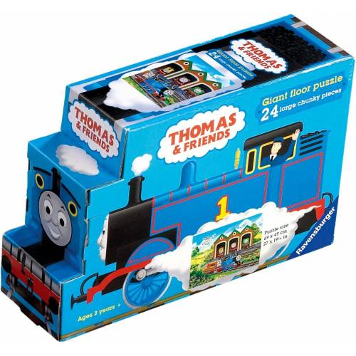 Ravensburger 24pc Giant Floor Thomas & Friends Shaped Box