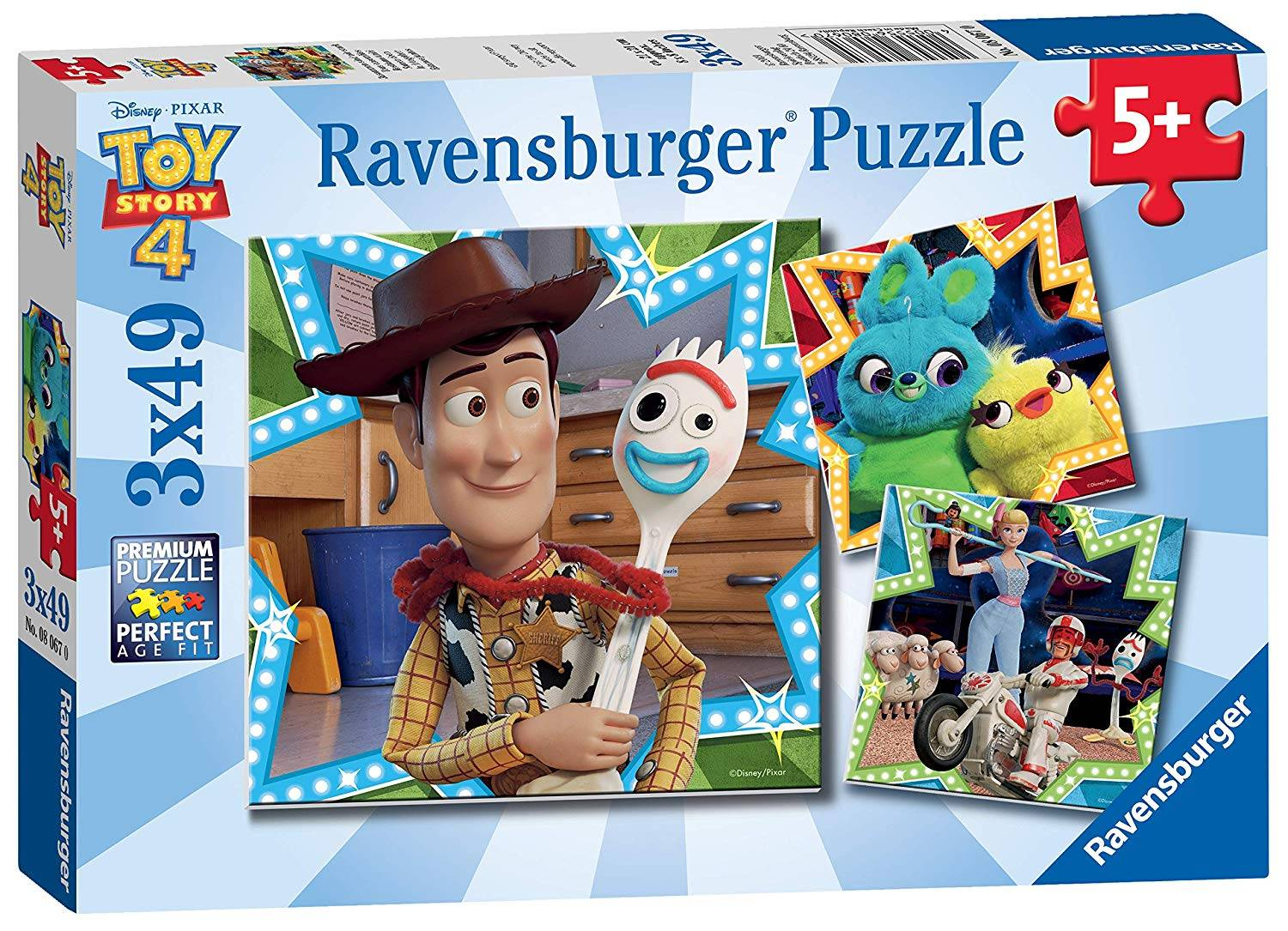 Ravensburger 3 x 49pc Puzzles Toy Story 4
