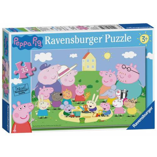 Ravensburger 35pc Peppa Pig Fun In the Sun