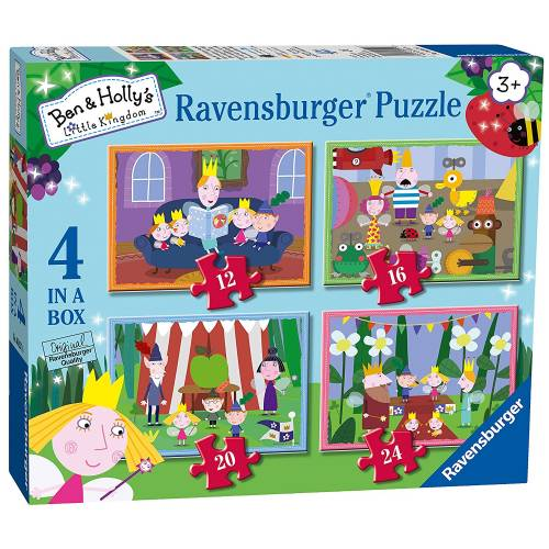 Ravensburger 4 Puzzles in a Box Ben & Holly