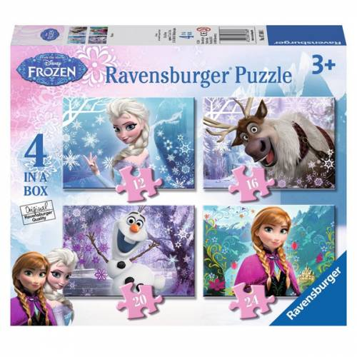 Ravensburger 4 Puzzles in a Box Disney Frozen