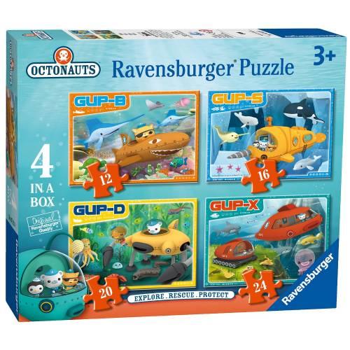 Ravensburger 4 Puzzles in a Box Octonauts