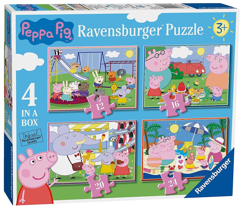 Ravensburger 4 Puzzles In A Box Peppa Pig