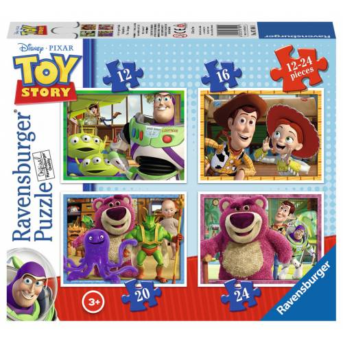 Ravensburger 4 Puzzles in a Box Toy Story
