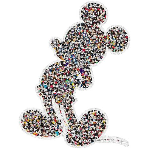 Ravensburger 945pc Disney Mickey Mouse Shaped Jigsaw Puzzle