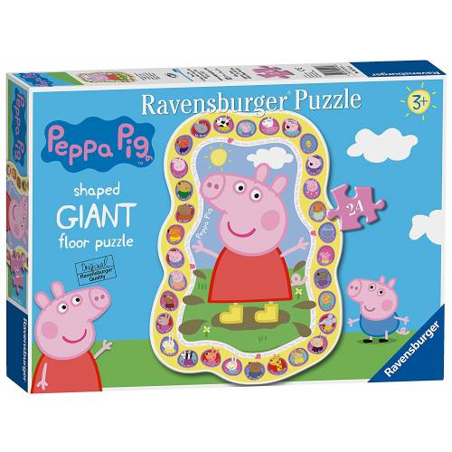Ravensburger Giant Floor Puzzle 24pc Peppa Pig