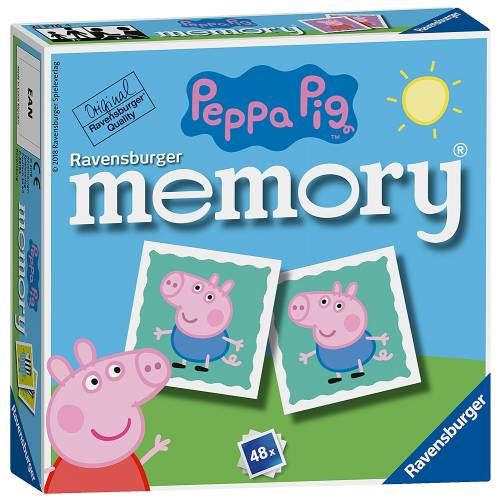 Ravensburger Mini Memory Game  Peppa Pig