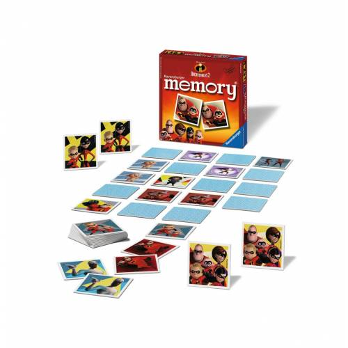 Ravensburger Mini Memory Game Incredibles 2