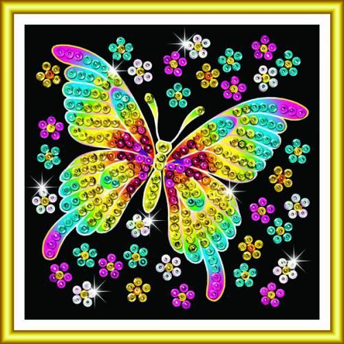 Sequin Art Ltd. Sequin Art 60 Butterfly 1325