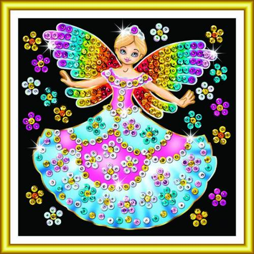 Sequin Art Ltd. Sequin Art 60 Fairy Princess 1336