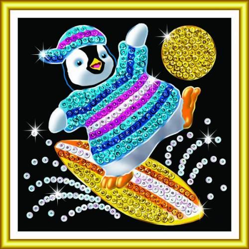 Sequin Art Ltd. Sequin Art 60 Penguin 1328
