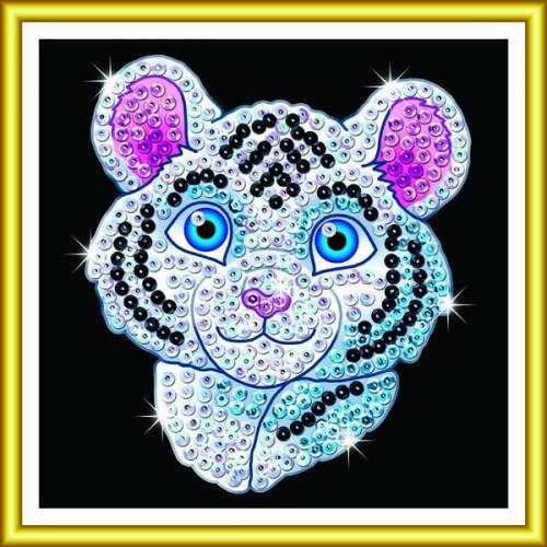 Sequin Art Ltd. Sequin Art 60 White Tiger 1326