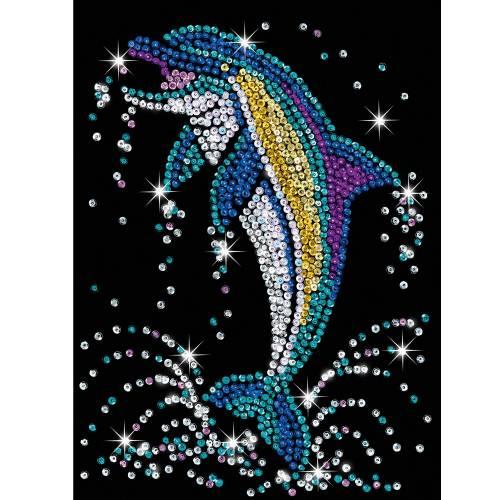Sequin Art Ltd. Sequin Art Blue Dolphin 1516