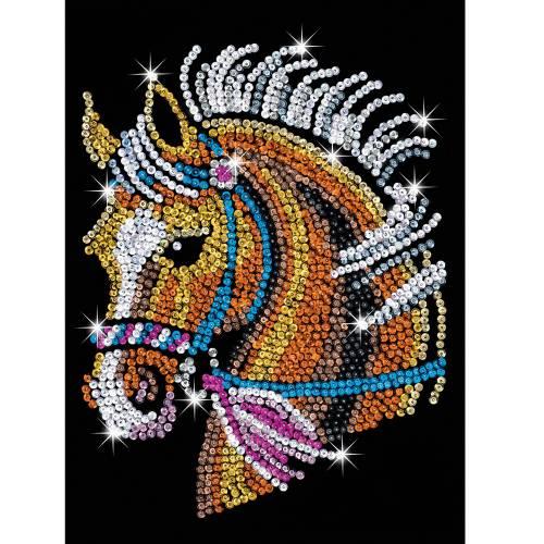 Sequin Art Ltd. Sequin Art Blue Horse 1517