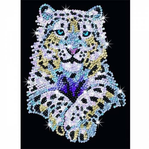 Sequin Art Ltd. Sequin Art Blue Snow Leopard 1404