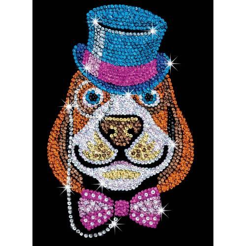 Sequin Art Ltd. Sequin Art Red Lord Bertie the Dog 1518