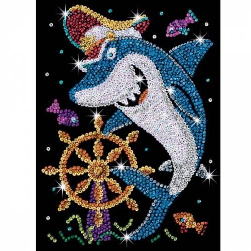 Sequin Art Ltd. Sequin Art Red Sonny the Shark 1402
