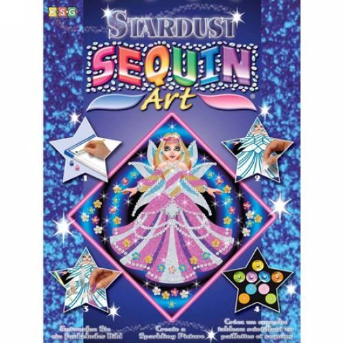 Sequin Art Ltd. Sequin Art Stardust Fairy Princess 1011