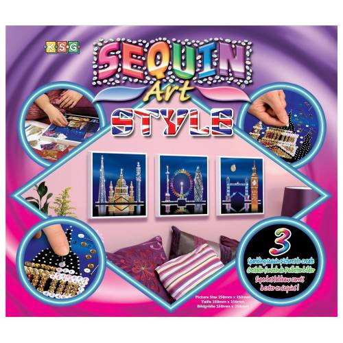 Sequin Art Ltd. Sequin Art Style London Skyline 1316