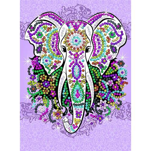 Sequin Art Ltd. Sequin Art Teen Craft Elephant 1810