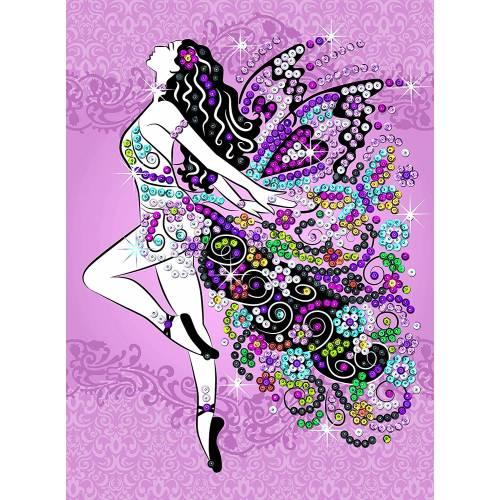 Sequin Art Ltd. Sequin Art Teen Craft Fairy 1809